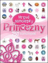 Princezny - Hravé samolepky