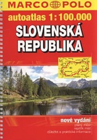 Sovenská republika/atlas- - 1:100 000