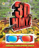 3D hmyz - Super samolepky