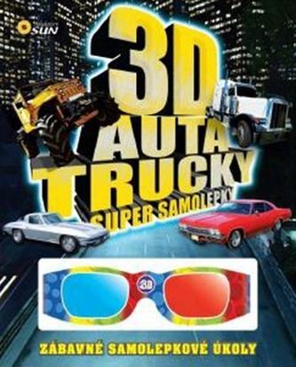 3D Auta, trucky - Super samolepky