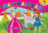 Maximalování - Princezny a víly - Namaluj si 14 maxi obrazů