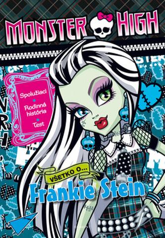 Monster High Všetko o Frankie Stein