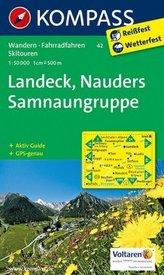 Landeck,Nauders Samnaungruppe 42 / 1:50T NKOM