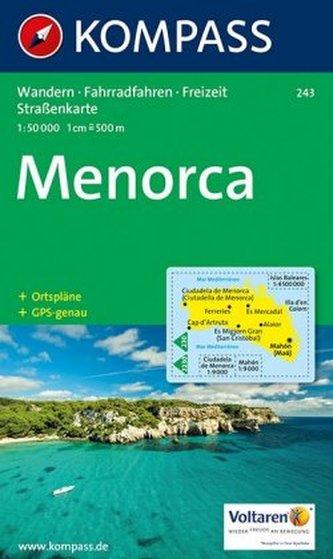 Kompass Karte Menorca