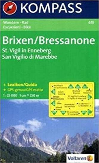 Brixen/Bressanone St.Vigil,Enneberg 615 / 1:25T NKOM
