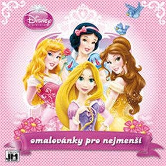 Princezny - omalovánka