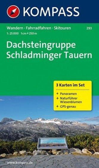 Dachsteingruppe Schladminger Tauern 293 ,3 mapy / 1:25T NKOM