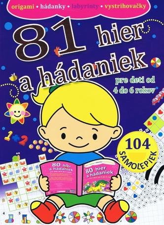 81 hier a hádaniek pre deti od 4 do 6 rokov