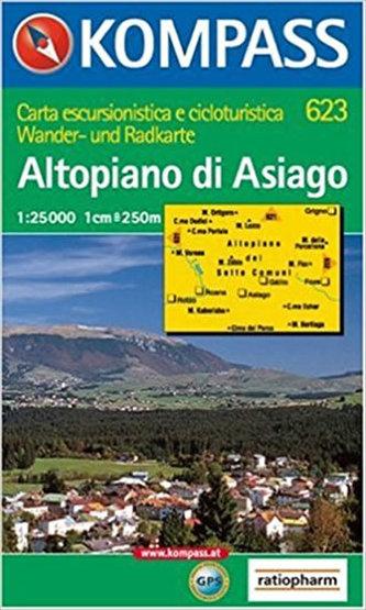 Altopiano di Asiago 623 / 1:50T NKOM