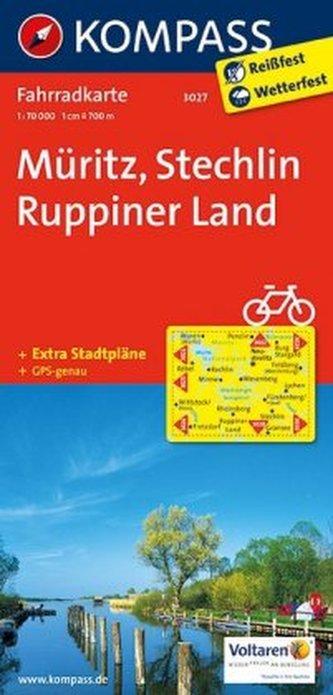 Kompass Fahrradkarte Müritz, Stechlin, Ruppiner Land