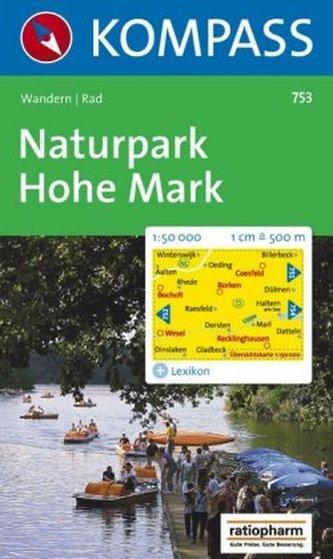 Kompass Karte Naturpark Hohe Mark