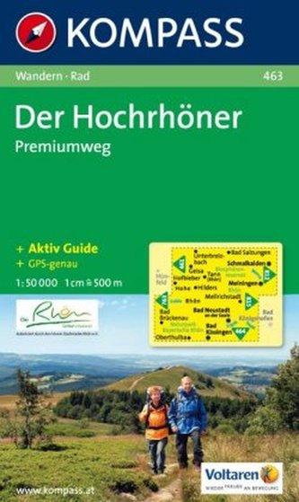 Kompass Karte Der Hochrhöner - Premiumweg