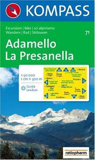 Adamello,La Presanella 71 / 1:50T KOM