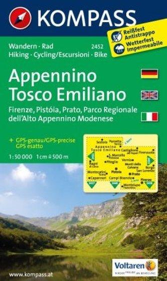 Appennino Tosco Emiliano 2452 / 1:50T NKOM