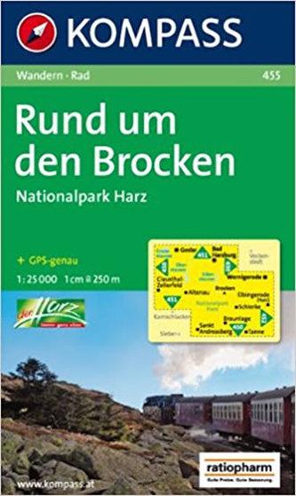Brocken,Nationalpark Harz 455 / 1:25T NKOM