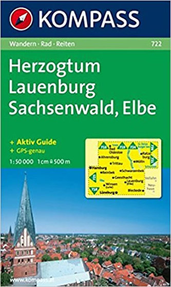Herzogtum Lauenburg,Sachsenwald,Elbe 722 / 1:50T NKOM