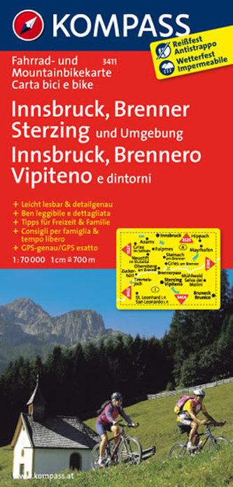 Innsbruck,Brenner,Sterzing 3411 / 1:70T KOM