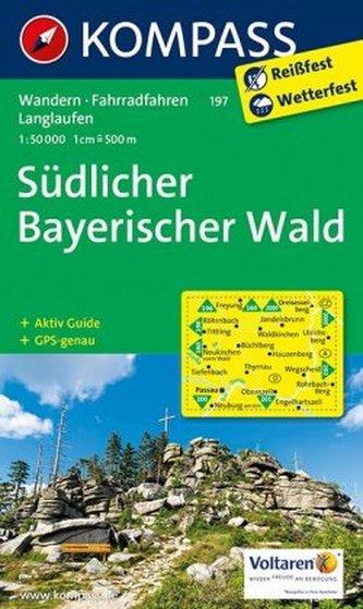 Kompass Karte Südlicher Bayerischer Wald