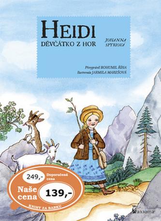 Heidi děvčátko z hor - Říha Bohumil