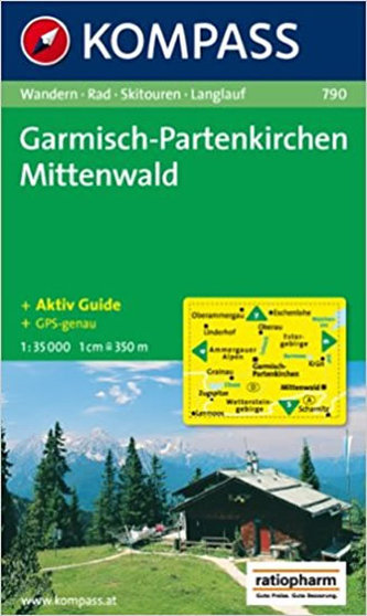Garmisch,Partenkirchen Mittenwald 790 / 1:35T KOM