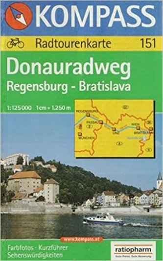 Donau,RW:Regensburg,Blava 151 / 1:125T NKOM