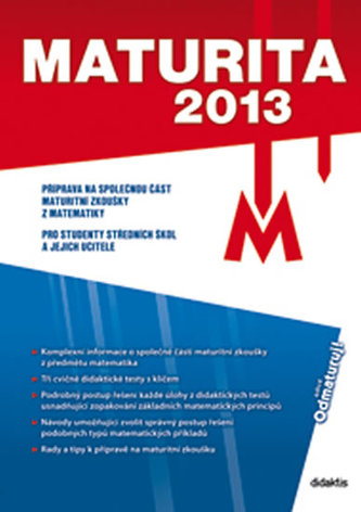 Maturita 2013 Matematika