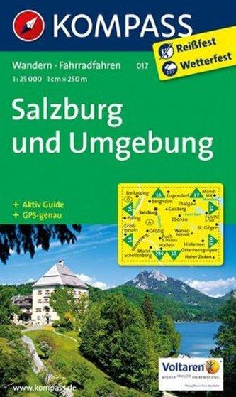 Kompass Karte Salzburg und Umgebung