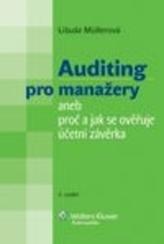 Auditing pro manažery aneb Proč a jak se ověřuje účetní závěrka