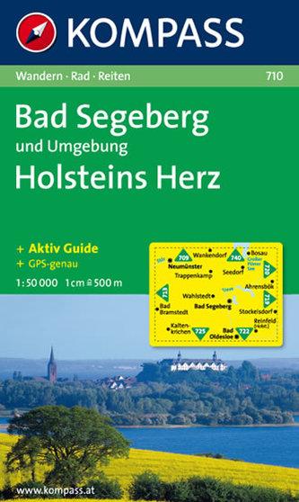 Bad Segeberg und Umgebung,Holsteins Herz 710 / 1:50T NKOM