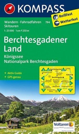 Berchtesgadener Land 794 / 1:25T NKOM