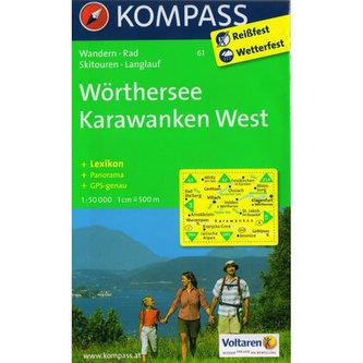 Wörtersee,Karawanken West 61 / 1:50T NKOM