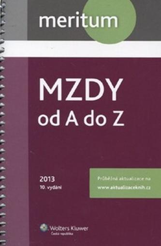 Mzdy od A do Z 2013