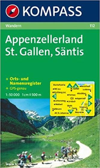 Appenzellerland St.Gallen,Säntis 112 / 1:50T NKOM