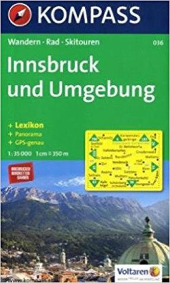 Innsbruck und Umgebung 036 / 1:30T KOM
