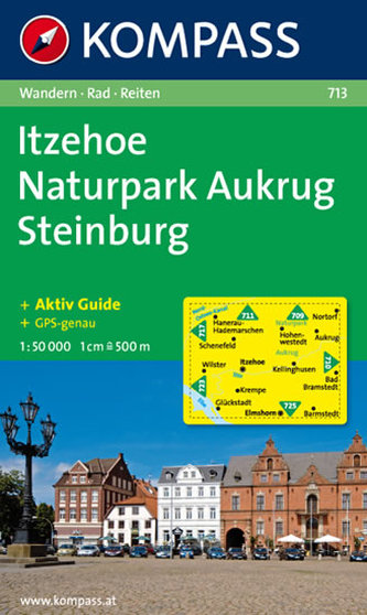 Itzehoe,Naturpark Aukrug,Steinburg 713 / 1:50T NKOM