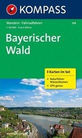 Bayerischer Wald 198 ,3 mapy / 1:50T NKOM