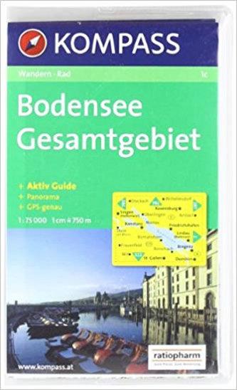 Bodensee,Gesamtgebiet 1c / 1:75T KOM