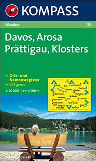 Davos,Arosa,Prättigau,Klosters 113 / 1:50T NKOM