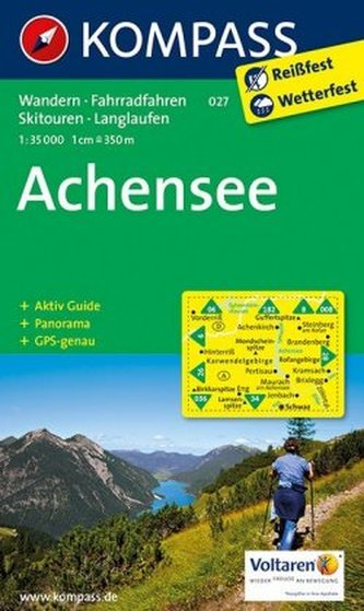 Kompass Karte Achensee