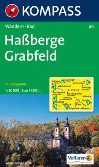Haßberge,Grabfelt 815 / 1:50T NKOM