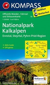 Kompass Karte Nationalpark Kalkalpen