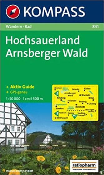 Hochsauerland Arnsberger Wald 841 / 1:50T NKOM