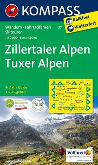 Zillertaler Alpen 37 / 1:50T NKOM