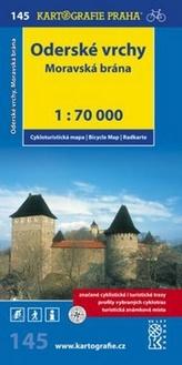 Oderské vrchy Moravská brána