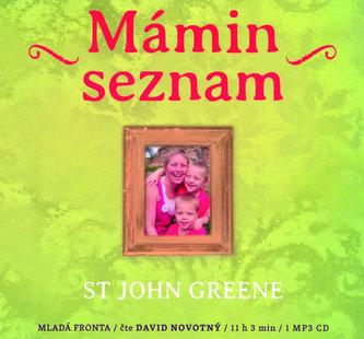 Mámin seznam - Emotivní příběh psaný životem - CD mp3 - John Green