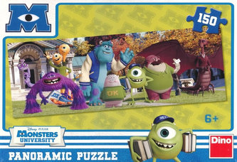 Univerzita pro příšerky - Kamarádi z OK - Puzzle 150