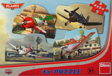 Letadla - Puzzle 4x54