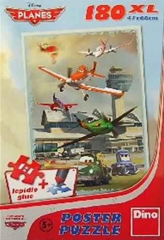 Letadla - Hladké přistání - Puzzle 180 D