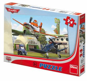 Letadla - U hangáru - Puzzle 24