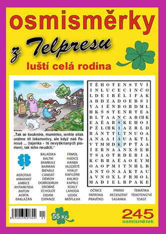 Osmisměrky z Telpresu luští celá rodina 1/2013 - 245 osmisměrek